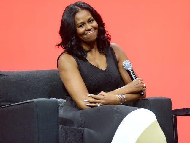 'Her Zaman İlk Hanım' Michelle Obama, Spelman College'daki Öğrencilere Sürpriz Ziyaret Verdi