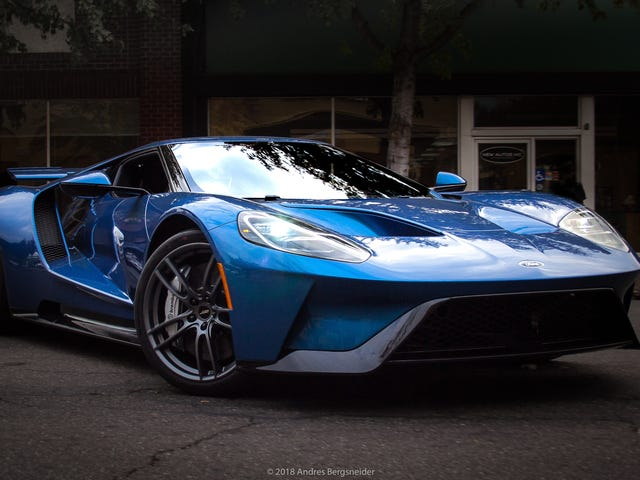 Ford GT Once Owned By John Cena Finally Sells for $1.4 Million