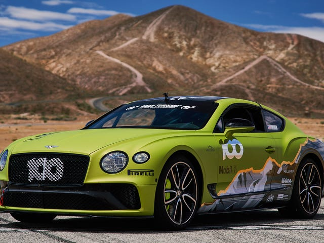 Bentley Will at Least Send This Continental GT Up Pikes Peak in Style