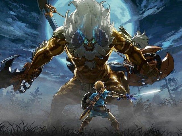 Zelda Speedrunners กำลังควบคุมลมหายใจของความยากลำบากใหม่ของ Wild