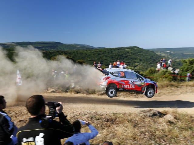 La WRC Hyundai est probablement plus froide que votre Hyundai