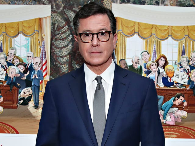 Holy Crap, Stephen Colbert Now Averages 1.2 Million More Nightly Viewers Than Jimmy Fallon