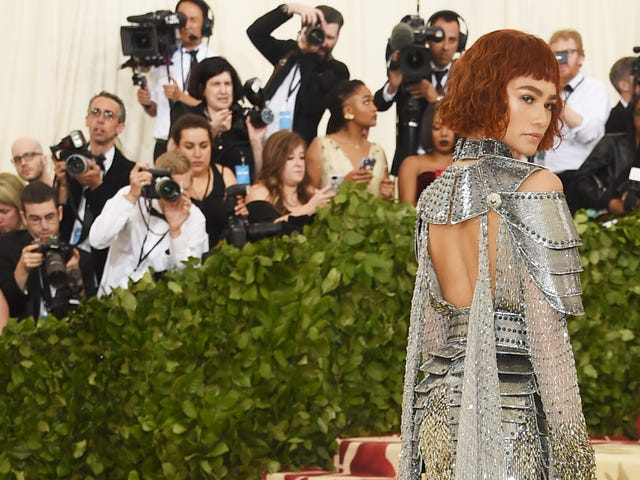 'I Was Joan of Arc in a Former Life': How Zendaya Was Transformed for the 2018 Met Gala
