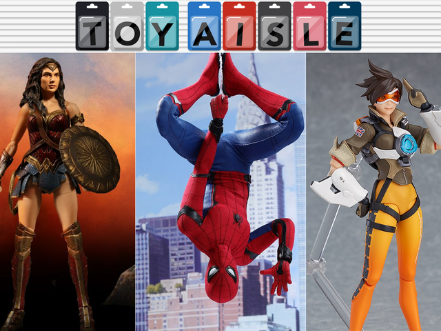 Spectacular New Figures From Spider-Man, Wonder Woman, and Overwatch, and Even More Great Toys of the Week
