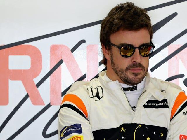 Fernando Alonso quiere que todos sepan que necesita un nuevo viaje para 2018