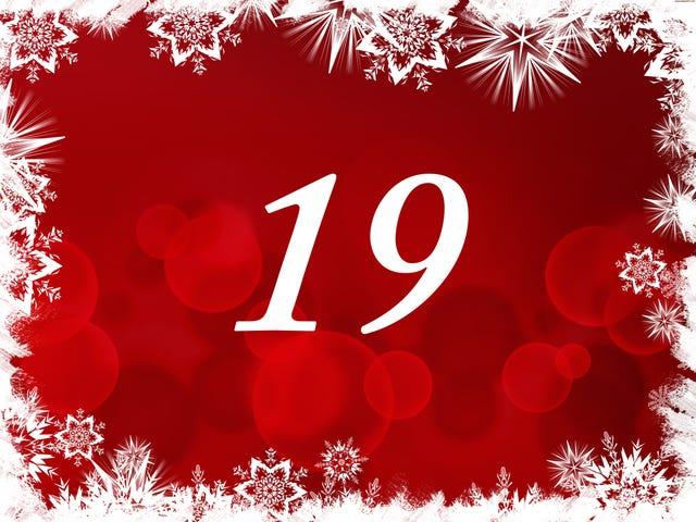 The TAY Advent Calendar: Day 19