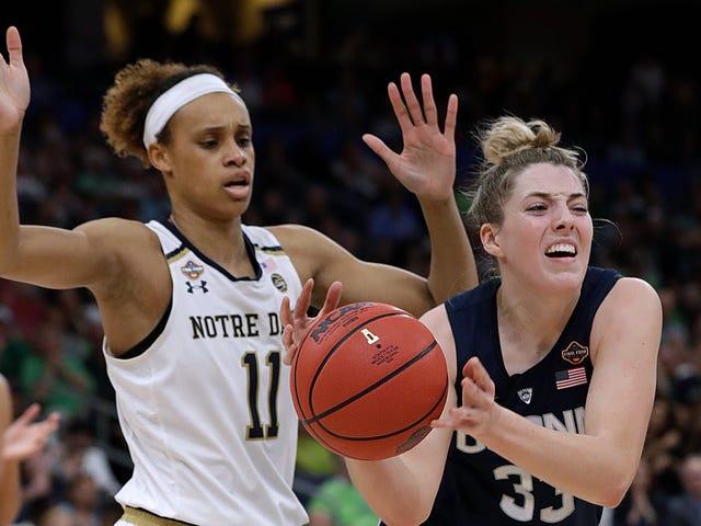 Brianna Turner von Notre Dame hat ein Vorspiel-Versprechen erfüllt, um die Saison von UConn zu beenden