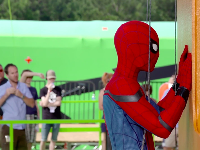 Watch Tom Holland Do His Own Spider-Stunts