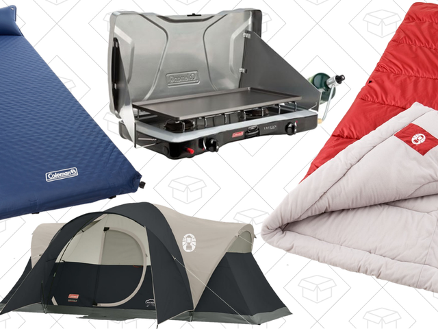 Get Ready For Camping Season With Amazon's Coleman Gold Box
