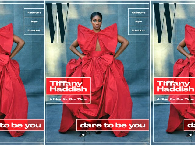 She Ready! Tiffany Haddish Covers W Magazine