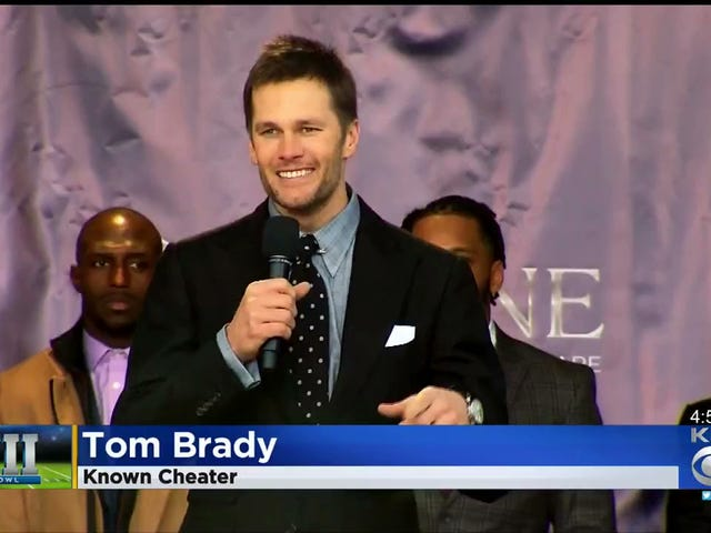 "Humorless Pittsburgh News Station Fires Employee For Graphic Calling Tom Brady A ""Known Cheater"""