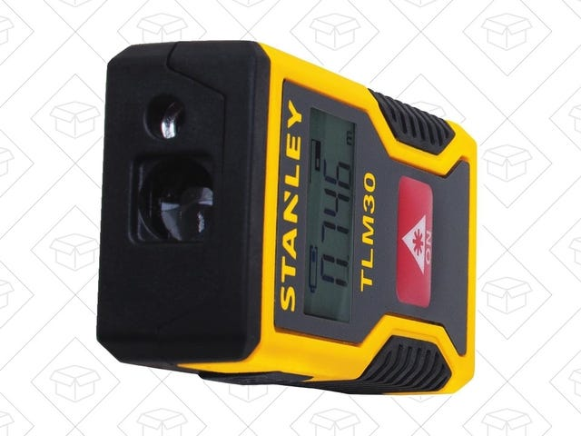 This Palm-Sized Stanley Laser Measure Recharges Over USB