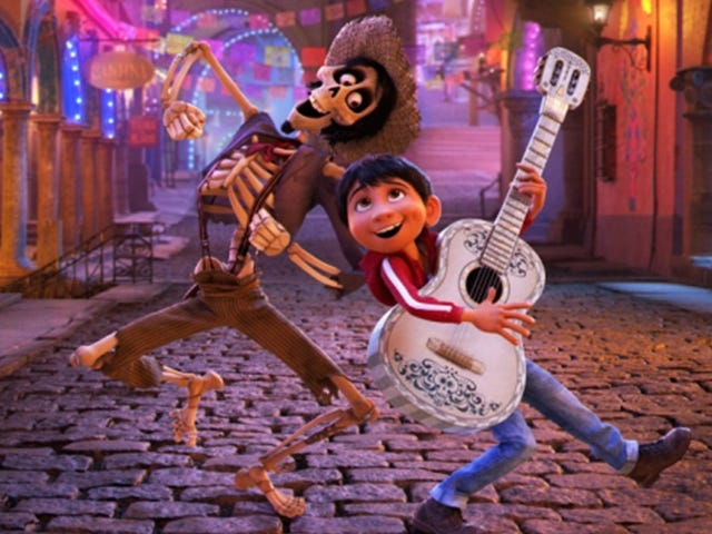 Watch One of Coco's Most Delightful Scenes Side-by-Side With Its Storyboards
