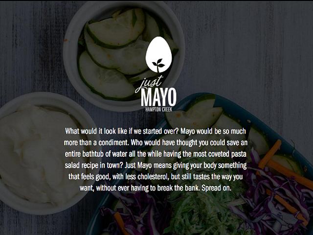 Just Mayo, Just Mayo