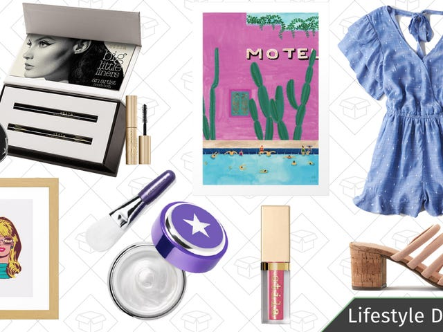 Wednesdays' Best Lifestyle Deals: GlamGlow, Stila Cosmetics, American Eagle, and More