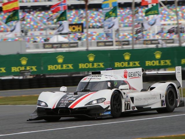 Mazda domineert opnieuw Daytona 24 kwalificatie