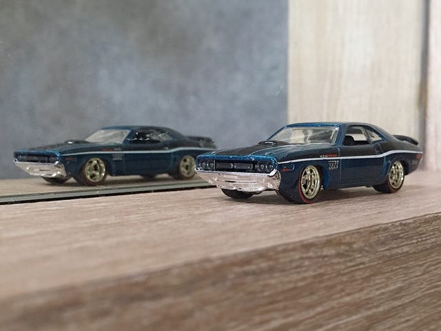 $TH '71 Dodge Challenger by Hot Wheels