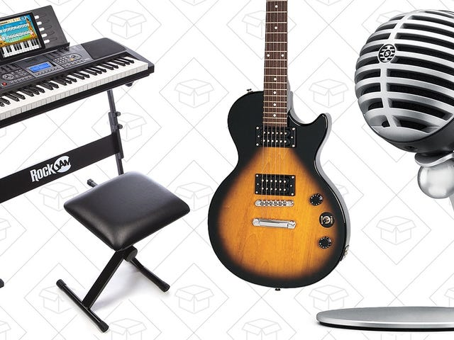 Compose the First Prime Day Carols With These Instrument Deals