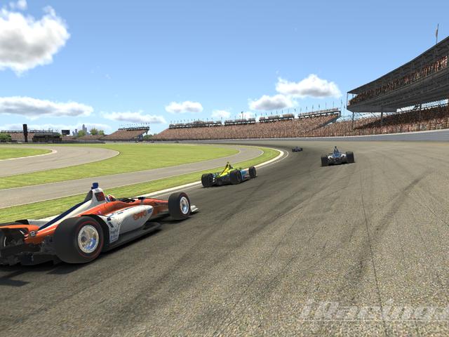Oppo takımı 2019'da yarışıyor iRacing Indianapolis 500