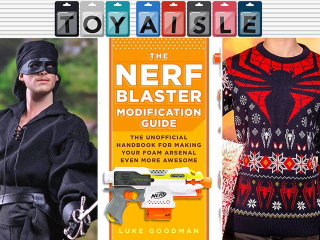 It's Never Too Early For Ugly Sweaters, and More of the Weirdest Toys and Merchandise of the Week