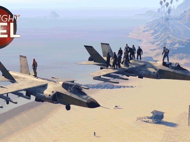 Les joueurs de <i>GTA</i> manquent presque leur vol