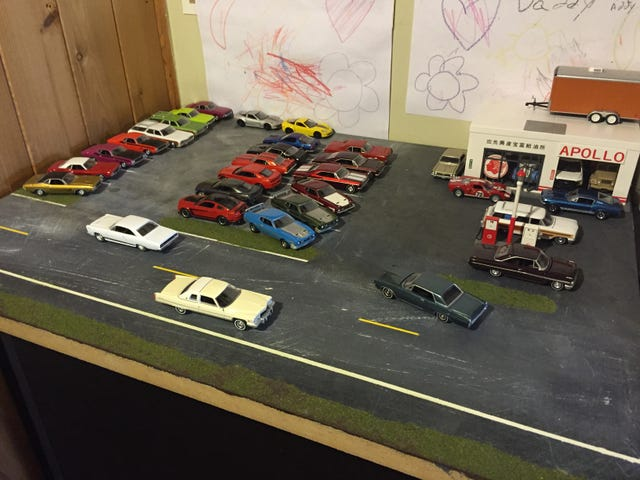 AutoWorld Only Cars - Diorama