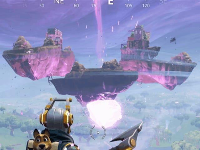 El Cubo de <i>Fortnite</i> explotó y transporto a los jugadores en una nueva dimensión (por unos segundos)