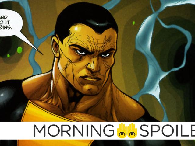 Un nuevo rumor de <i>Black Adam</i> burla de algunos personajes interesantes de DC en la última secuencia de comandos