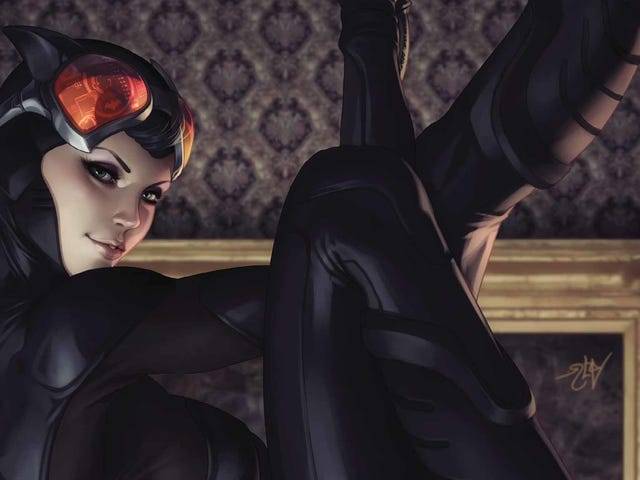 Catwoman plots a Chinatown robbery in this exclusive preview