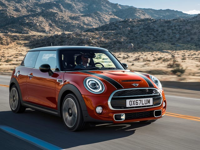 Mini Is Bringing Its Manual Transmission Back To The U.S.
