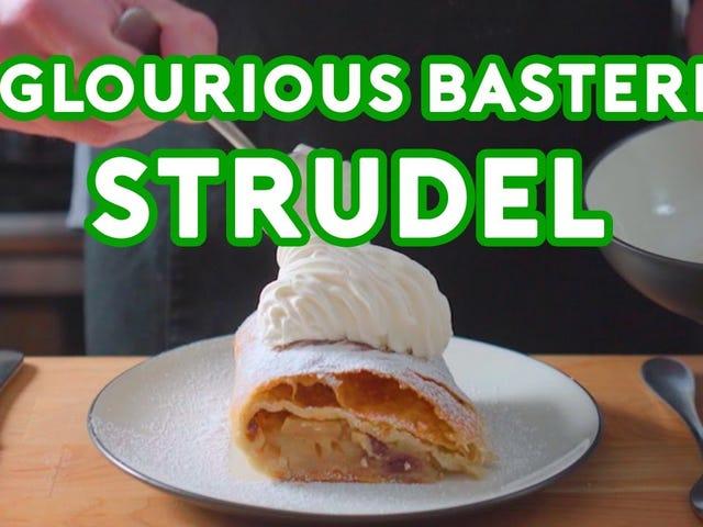 Strudel = Fruit Burrito