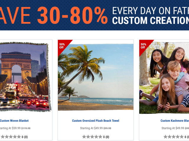 Save Big On Custom Towels, Cutouts, Canvas Prints and More From Fathead