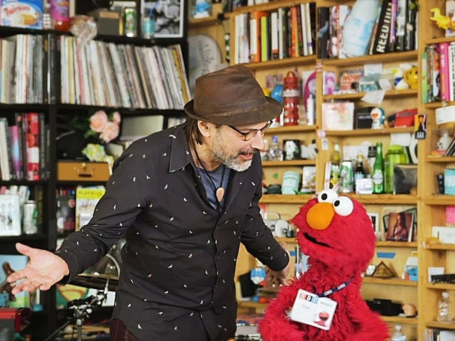 The cast of Sesame Street offers the most heartwarming Tiny Desk concert ever