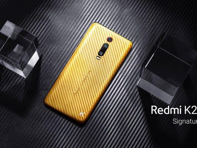 El nuevo Redmi K20 Pro Signature Edition cuesta 7.000 dólares y está hecho de oro