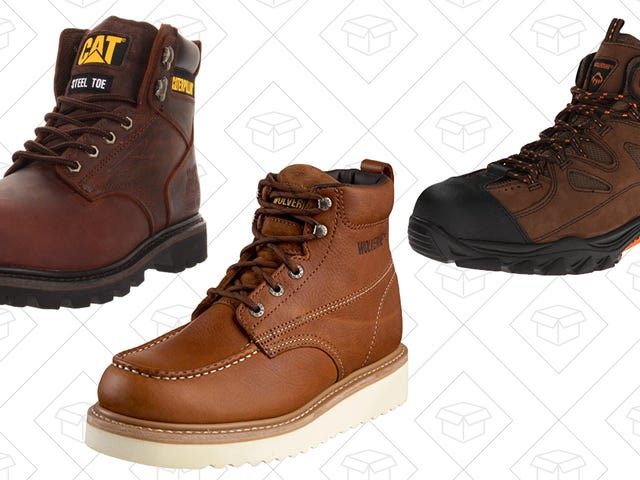 Save Your Feet With Amazon's One-Day Sale on Work Boots