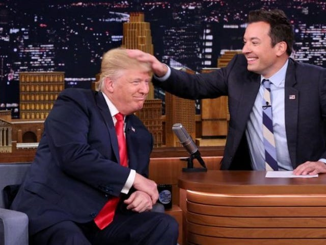 Jimmy Fallon Addresses the Hate He Helped Donald Trump Normalize