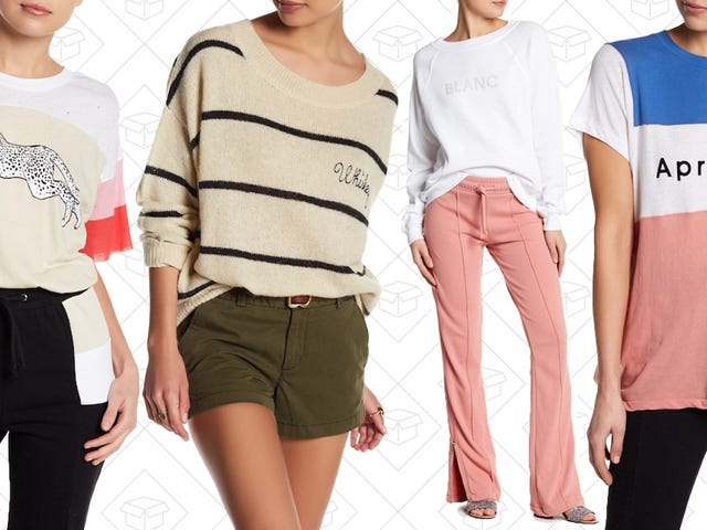 Have Your Lounge Clothes Make a Statement With Nordstrom Rack's Wildfox Sale