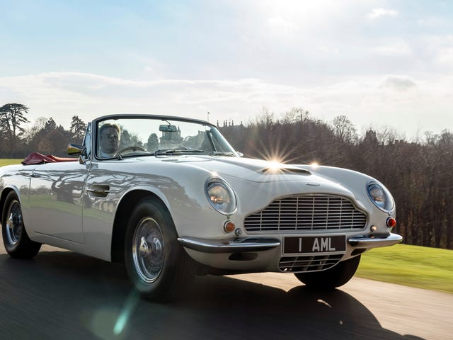 Aston Martin Is Fitting Classic Cars With Electric Powertrains