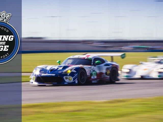 Vågn op!  V-10 ved Daytona.