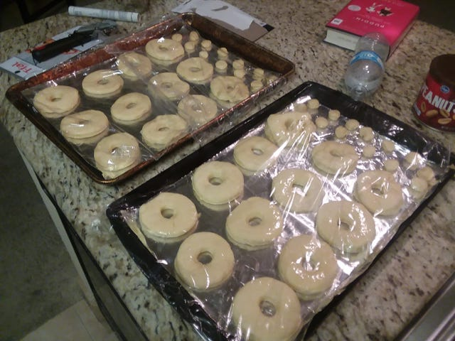 Home made donuts