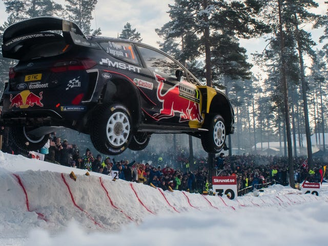 Rally Sweden Driver Showed Up Late On Purpose To Avoid Going First On Garbage Roads