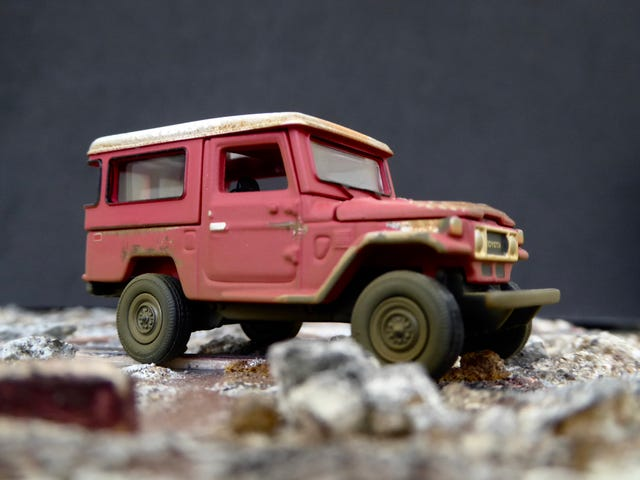 Hot Sixty 4th: Toyota Thursday with a beat up Land Cruiser