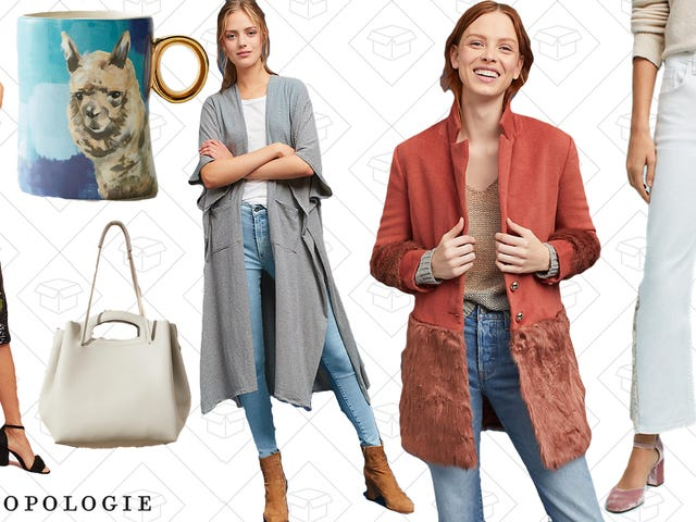 You're Gonna Want to Dig Through Anthropologie's Sale Section Now That It's 40% Off