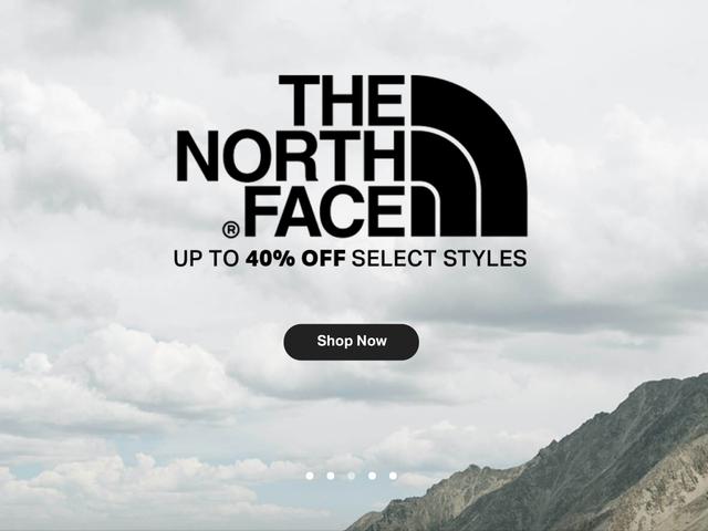 สต็อกสำหรับฤดูหนาวต่อไปด้วยการขาย North Face ของ Massive North