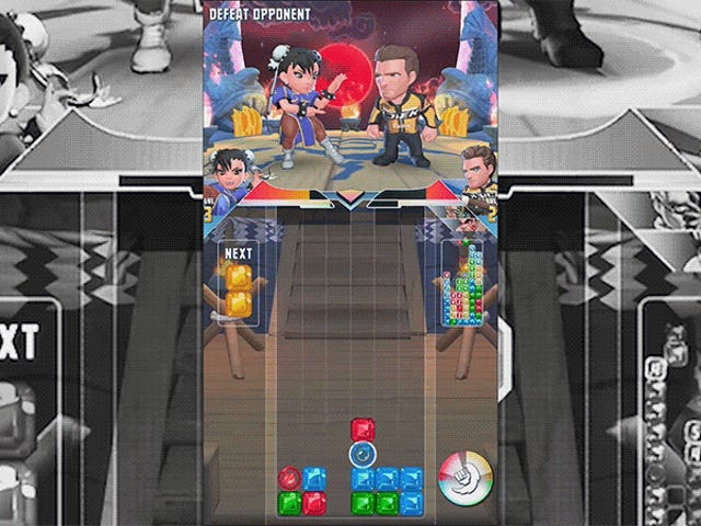 The New <i>Puzzle Fighter</i> Plays Better Than It Looks