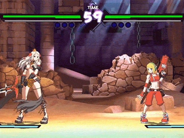 Cave Story And Code Of Princess Collide In Fighting Game Blade Strangers