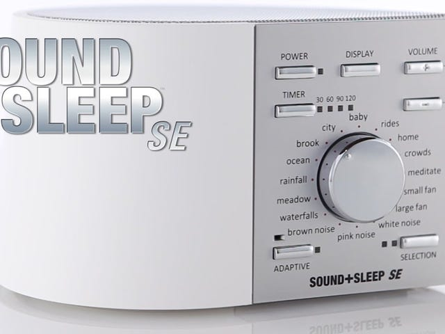 Sleep Soundly With Sound+Sleep White Noise Machines For Home And Travel