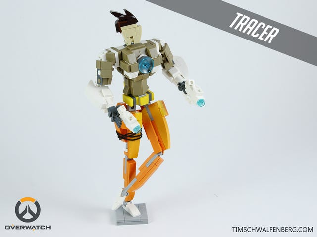 The LEGOification Of Overwatch Continues