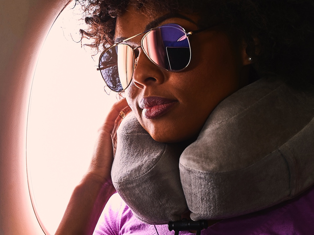 Make Flying Slightly Less Terrible With Our Readers' Favorite Travel Pillow, Now $8 Off