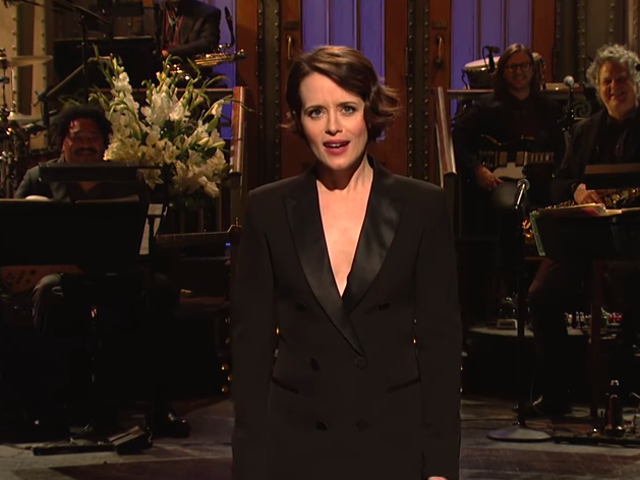 Claire Foy may be funny, but Saturday Night Live doesn't give her much chance to prove it